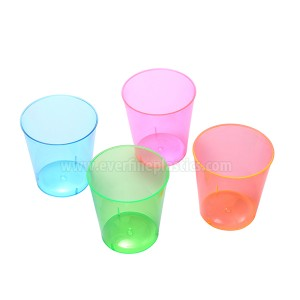 Plastic iko - 2oz Neon gbara Glass
