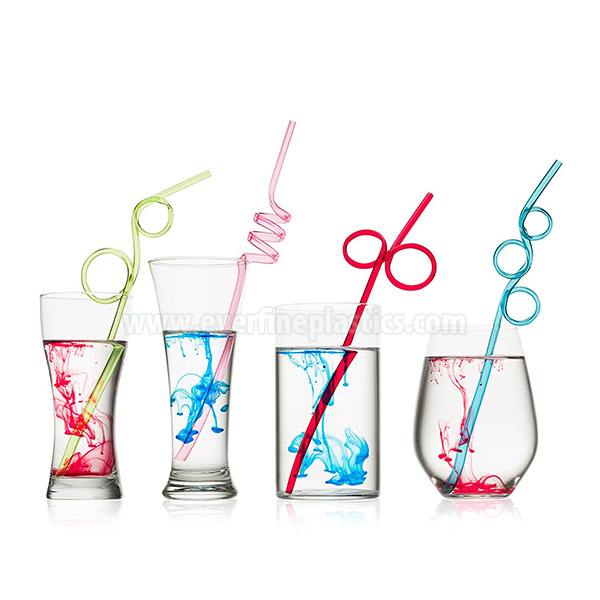 PVC Loop Straws Assorted Colors Featured Image