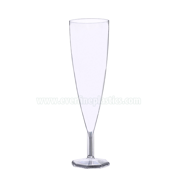 Plastic Cups – 5.5oz Champagne Glass Featured Image