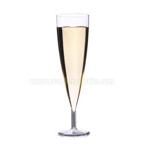 Plastic Cups – 5.5oz Champagne Glass