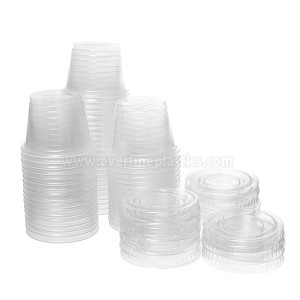 Plastic Portion Cup with 1oz