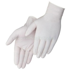 Latex gepuderten Handschuhe