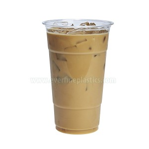 Nhựa Cup Crystal Clear PET 24oz
