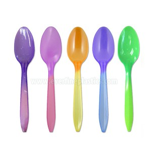 Spoons Plastic Color Changing