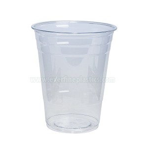 Cupa de plastic Crystal Clear PET 16 uncii