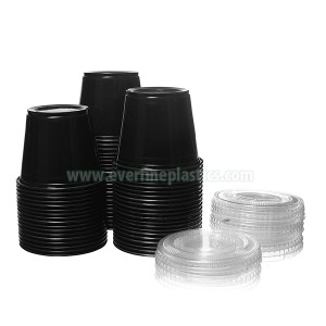 Plastic Portion Cup with Lid 4oz