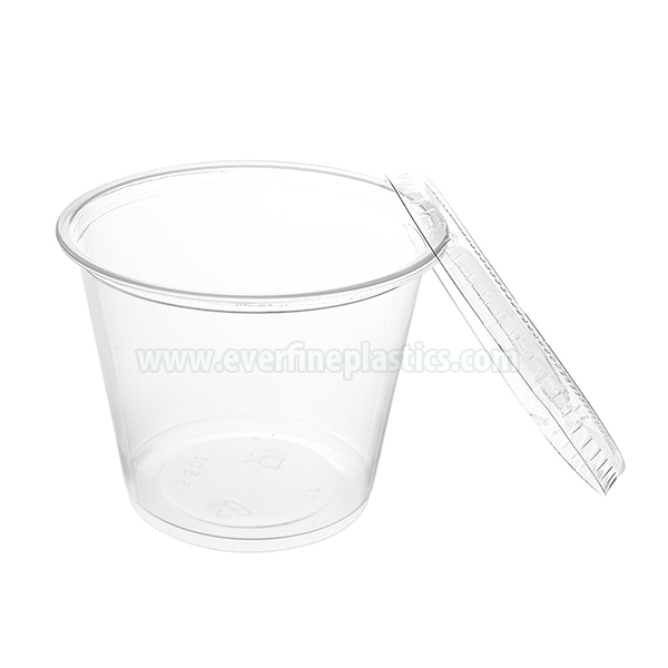 Plastic Portion Cup with Lid 5.5oz Featured Image