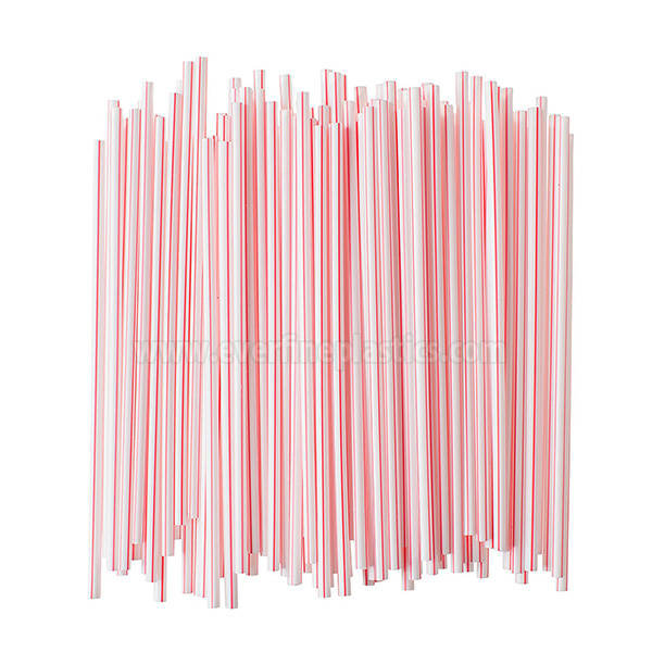 Individually Paper Wrapped Plastic Milkstraws Coffee Stirrers 5 3/4 Inches Featured Image