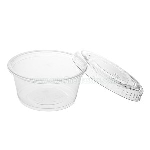 Plastic Portion Cup with Lid 3.25oz