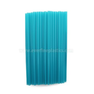 7.75 Inches Plastic Straight Jumbo Straws, Assorted Colors