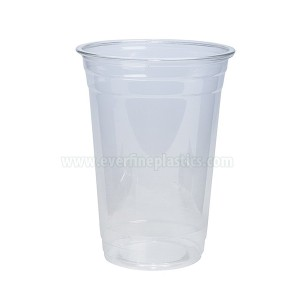 Plastic Coupe glaskloer PET 20oz