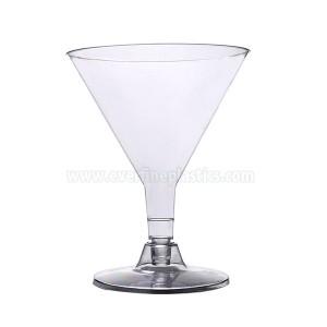 Plastic Cups – 5oz Martini Glass