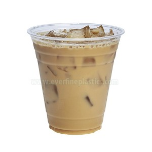 Plastic Cup Crystal Clear PITA 12oz squat