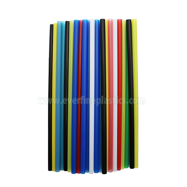 7,75 Nti Plastic Ncaj Jumbo Straws, Assorted Xim Featured duab