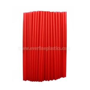7,75 Nti Plastic Ncaj Jumbo Straws, Assorted Xim